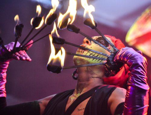 Feuershow in Köln