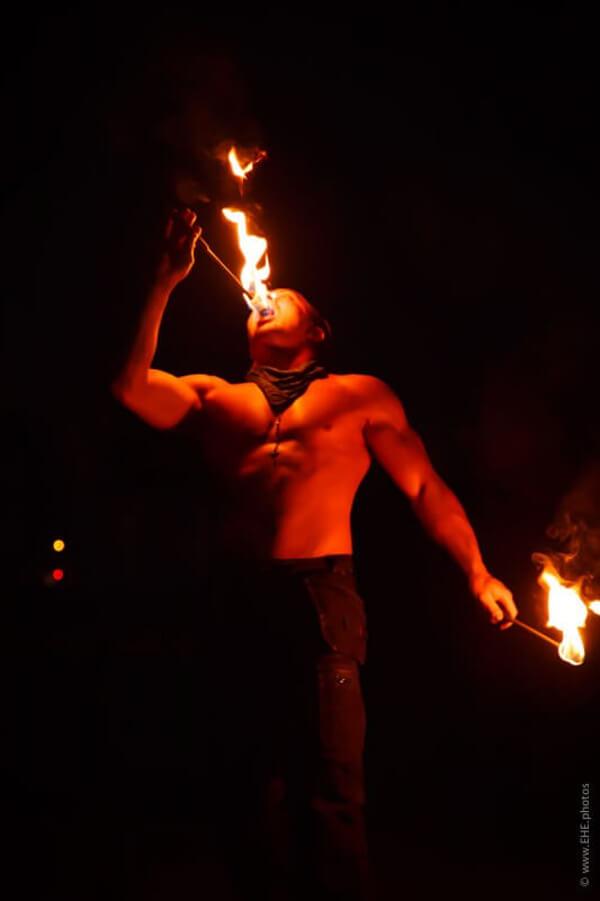 Feuerschlucker aus Hannover