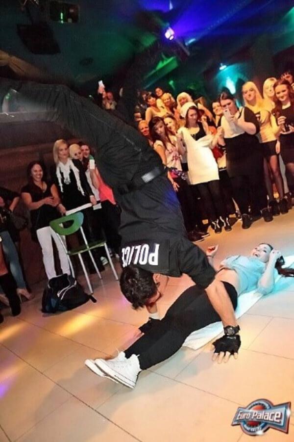 Akrobatik-Show