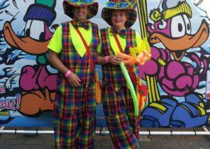Clowns zum Kindergeburtstag in NRW