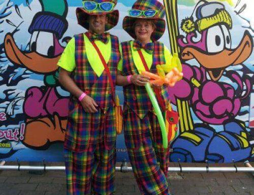 Clown zum Geburtstag in Oberhausen