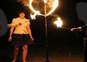 Feuershows zur Hochzeit